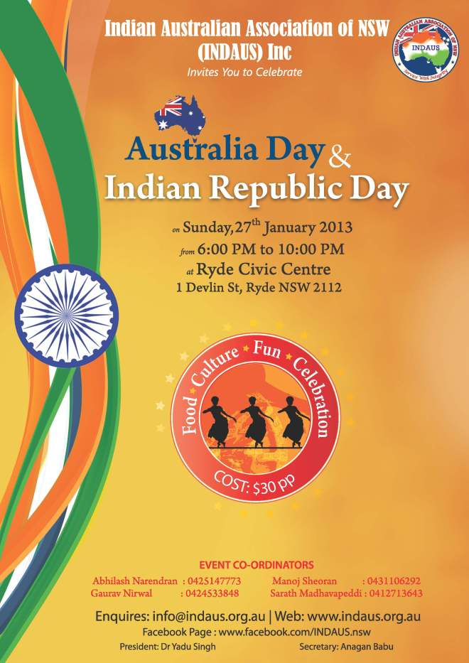 INDAUS-Australia-Day-Indian-Republic-Day-2013