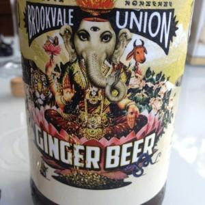 hindu goddess on beer bottle