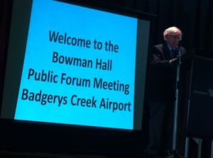 Badgerys Creek forum
