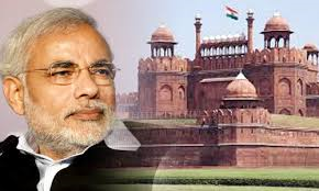 Narendra Modi and Red Fort