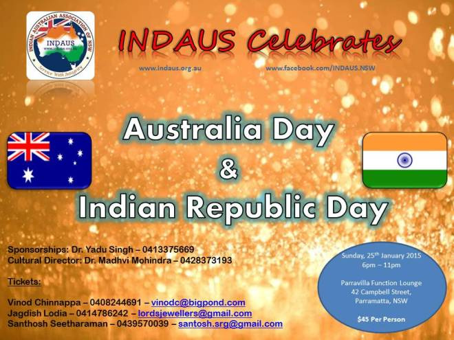 INDAUS Flyer to community