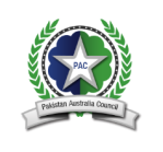 Pakistan Australia Council Logo