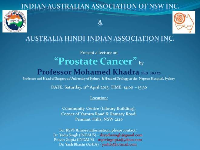 Prostate Cancer FLYER