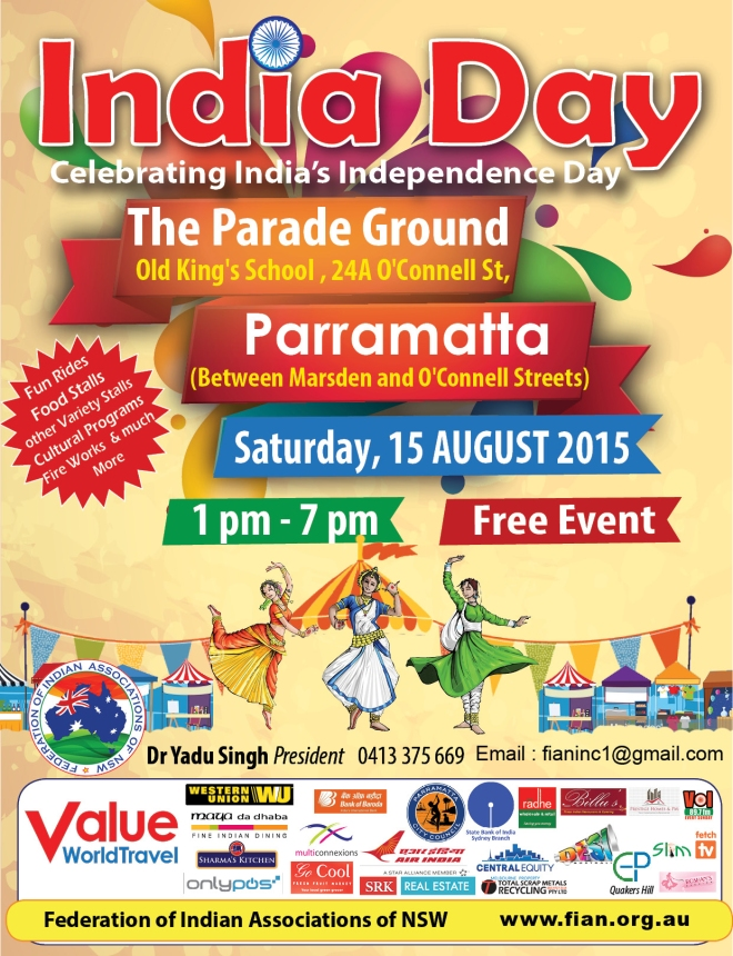 INDIA DAY POSTER EMAIL LINK