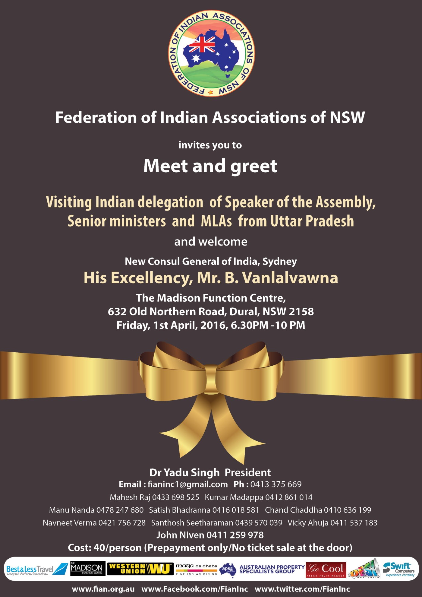 Meet And Greet Uttar Pradesh Ministerial Delegation And Welcome New