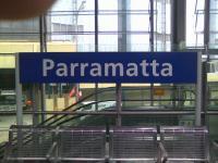 Parramatta station
