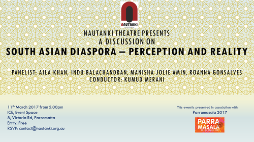 South Asian Diaspora - Perception and Reality