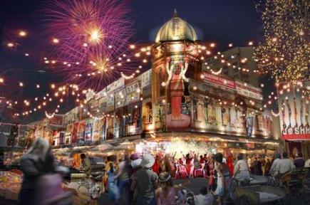 EVENTS NSW. Artist Impression. Image supplied Events NSW. Parramasala – The Australian Festival of South Asian Arts to be held in Parramatta in November 2010.