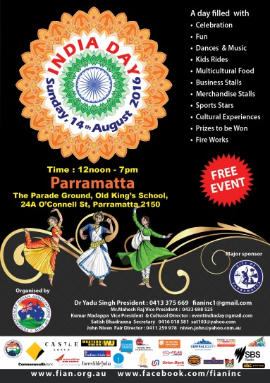 INDIA DAY 2016 JULY 24 FINAL