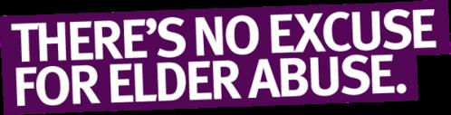 World Elder Abuse Awareness Day banner