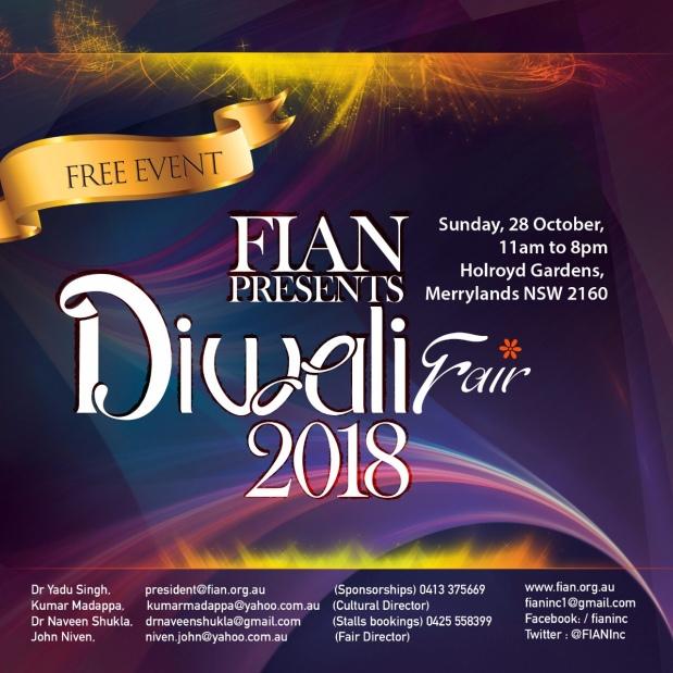Diwali Fair inSydney