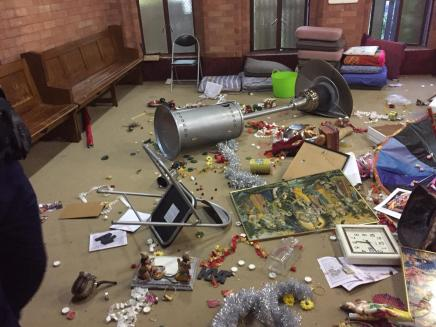 Hindu temple in Sydney damaged8